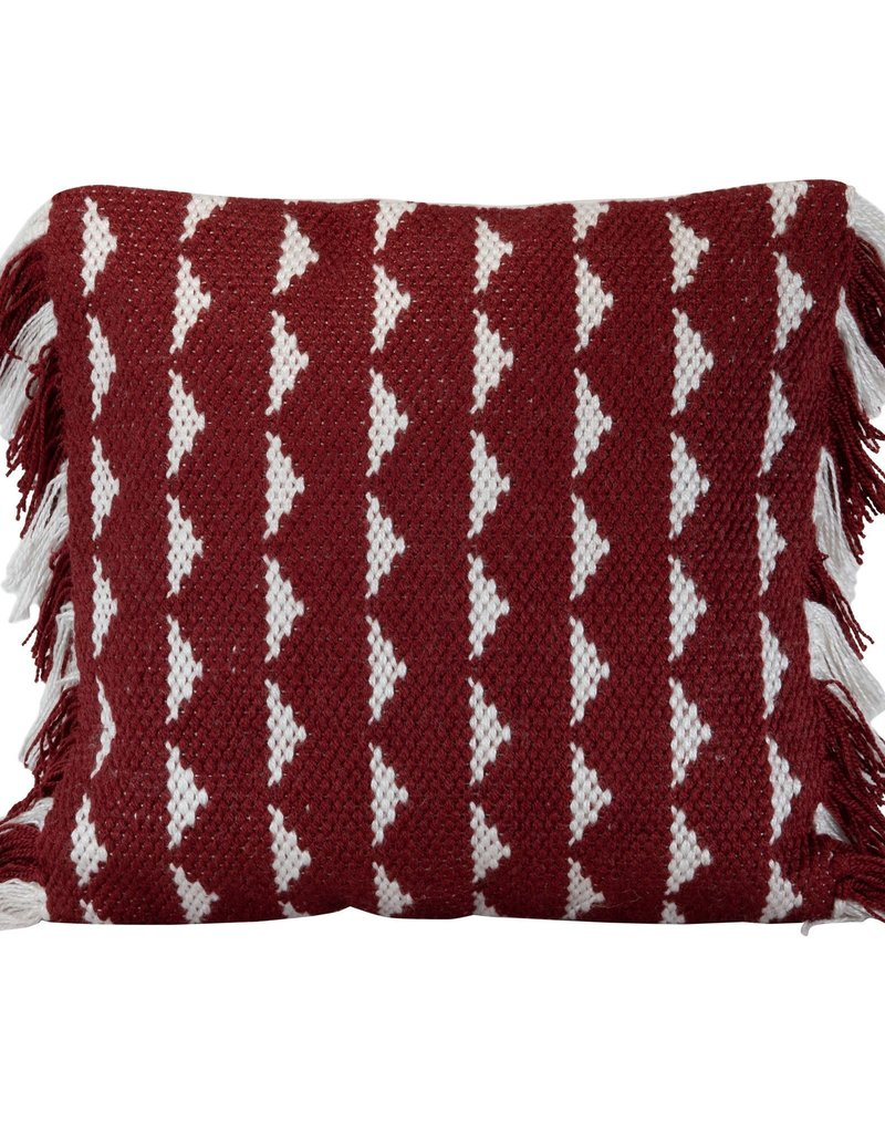 18x18 Blaise Pillow, Red