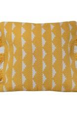 18x18 Blaise Pillow, yellow