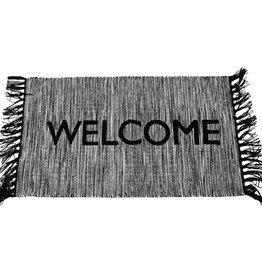Hand Woven Welcome Rug
