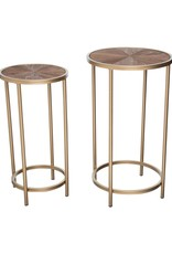 Modern Burst Nesting Tables