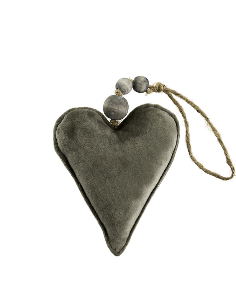 Velvet Heart Ornament
