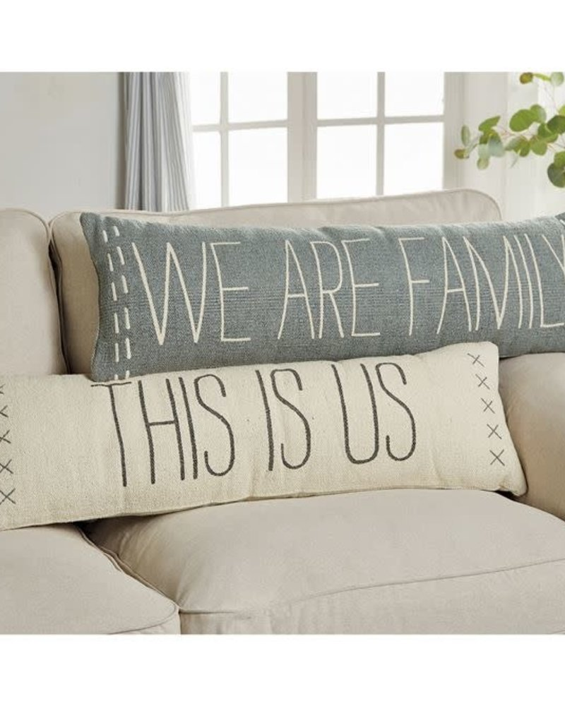 We are Family Long Pillow