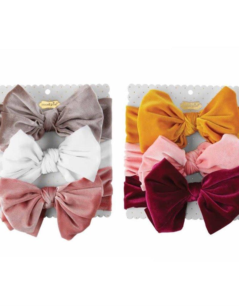 Velvet Headband Set