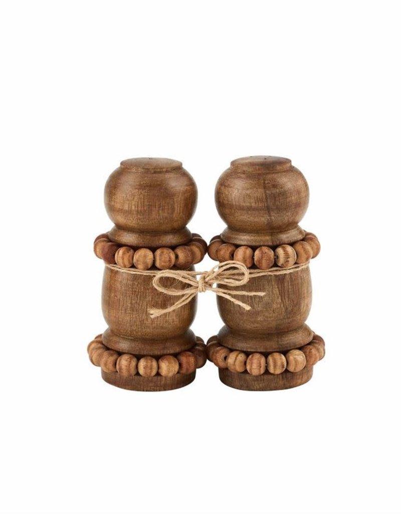 Beaded wood Shakers