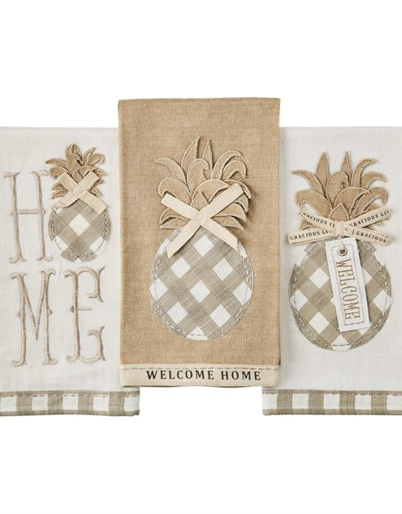 Welcome Pineapple Towel