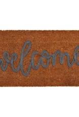 Welcome Coir Applique Mat