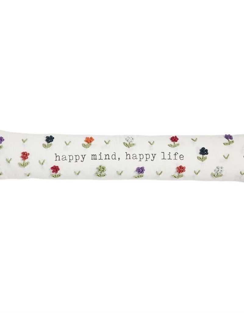 Floral Skinny Pillow