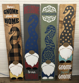 Gnome Porch Signs DIY TAKE HOME