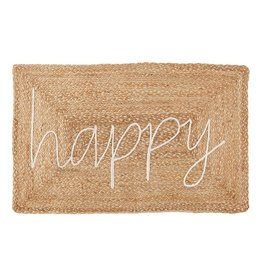 Happy Jute Applique Mat