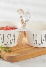 Salsa & Guacamole Dip set