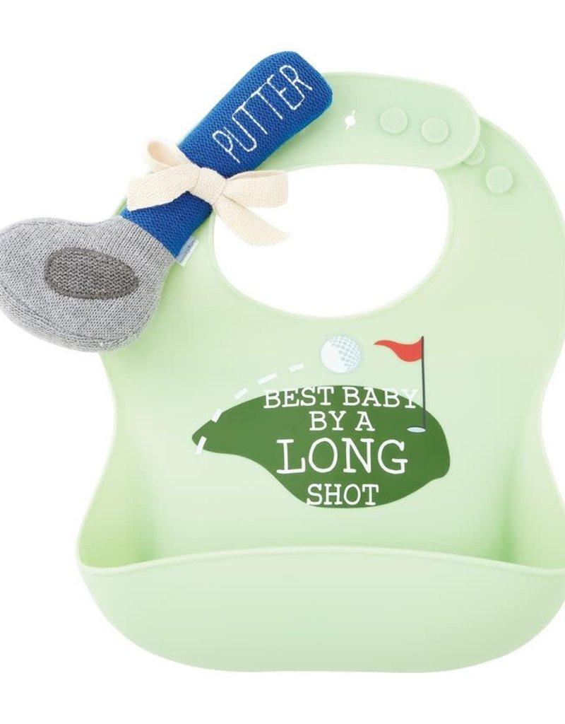 Golf Bib & Rattle