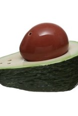 Avocado and Pit salt and pepper shaker