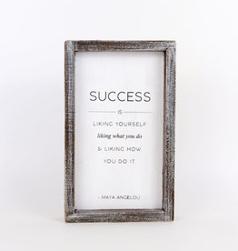 Success Framed Sign