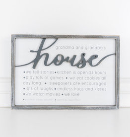 House Sign, reversible