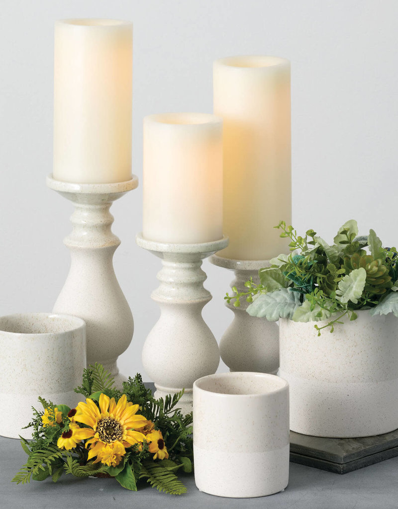 Gold Spec Flower Pot