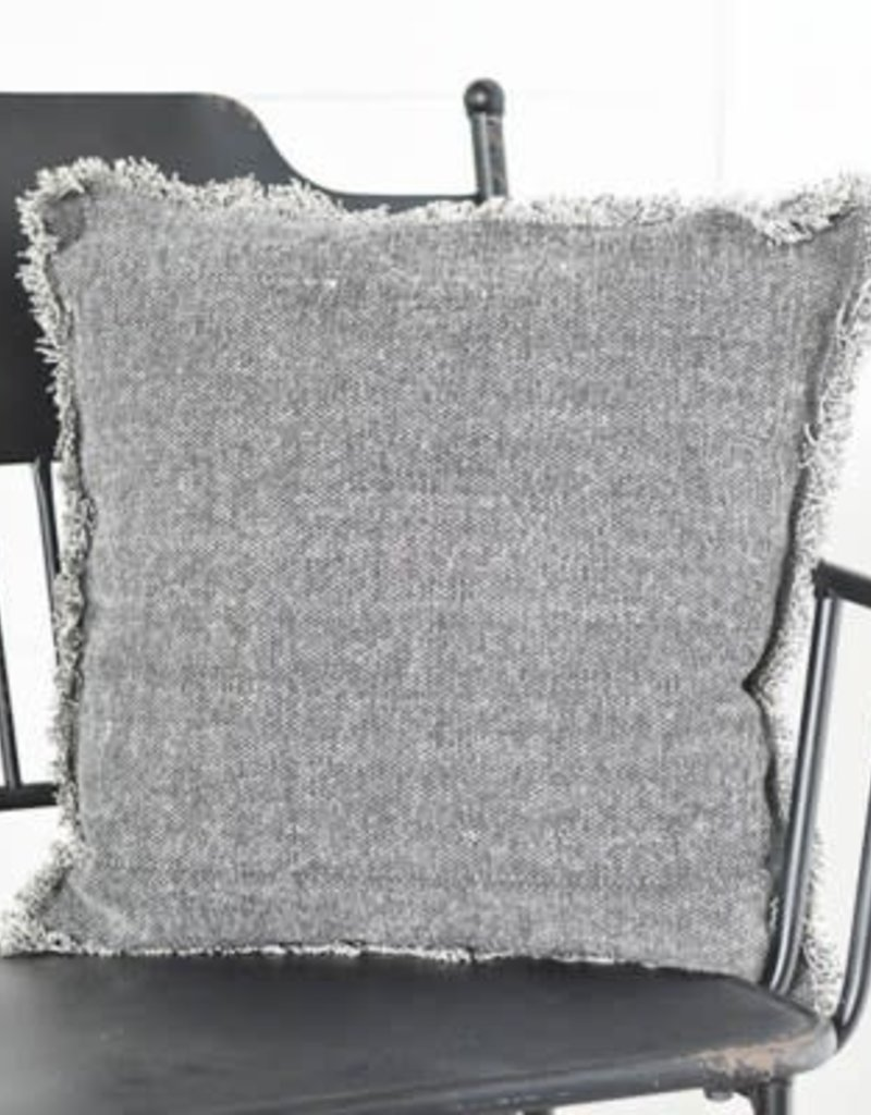"""20"""" Charcoal Pillow"""