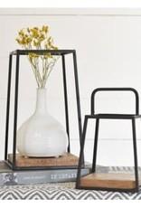Iron Wood Table Display
