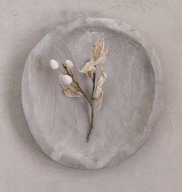 Wood Plate (Grey)