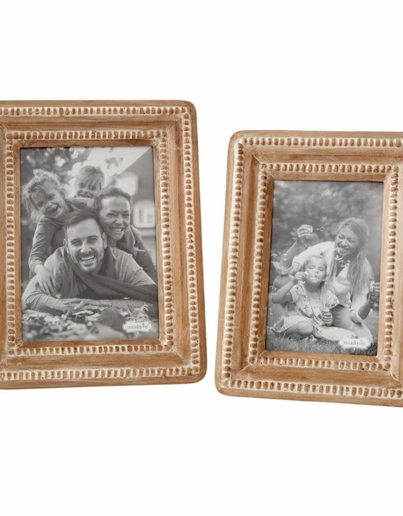 Beaded Wood Frame, 4x6