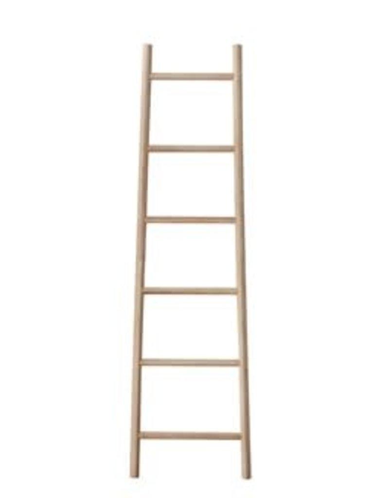 "19.25""x70.75""H Bamboo Ladder"