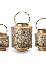 Gold Mesh Lanterns
