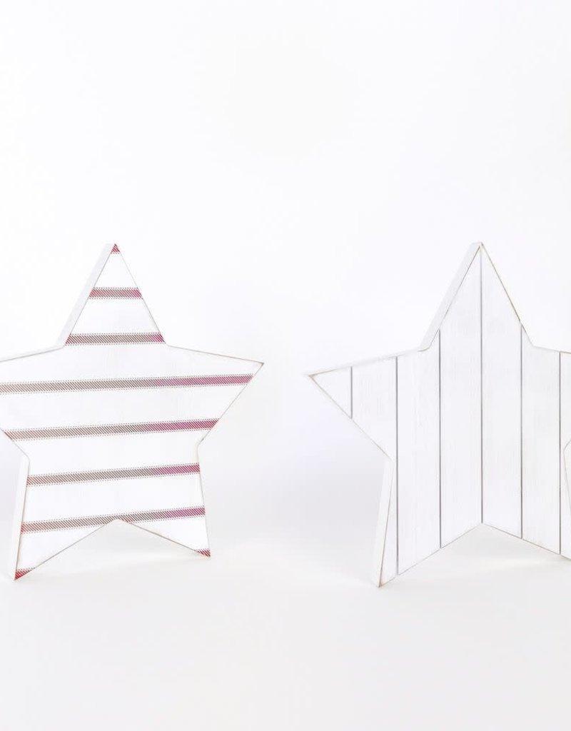 Reversible Wood Cutout (star)