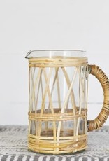 Glass Mug with Weave