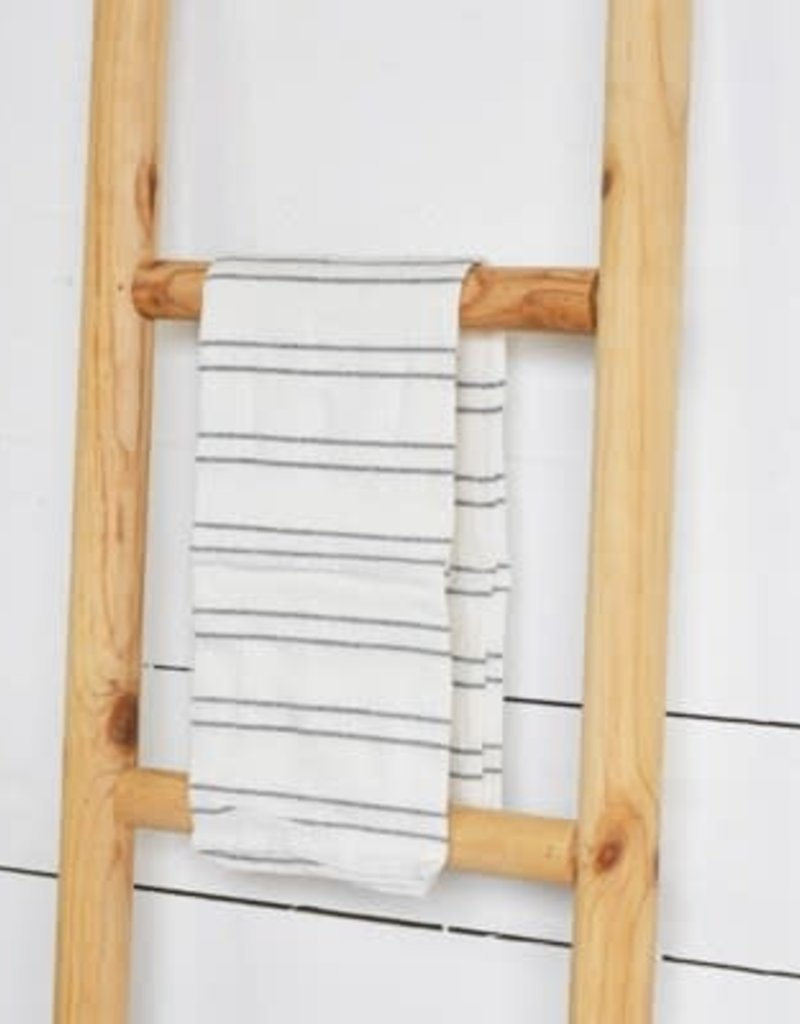 Stripe white Dish Towel
