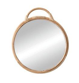 Rattan Mirror, Natural