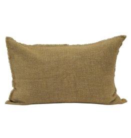 Lumbar Pillow, Mustard