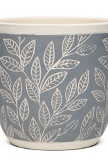 Laurel Leaf Pot