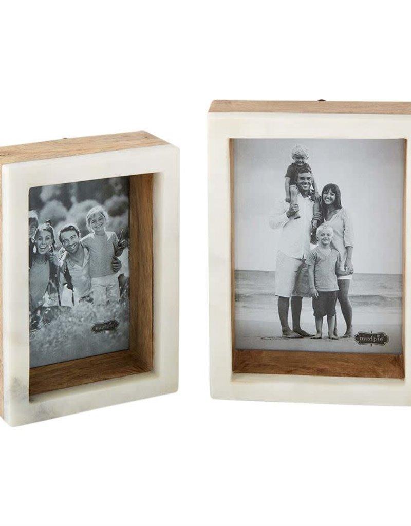 Marble/Wood Shadow box Frame