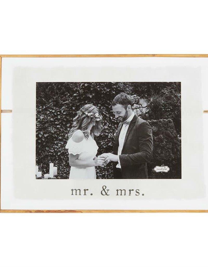 Small Mr/Mrs Glass Frame
