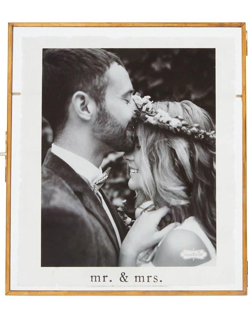 8x10 Mr/Mrs Glass Frame