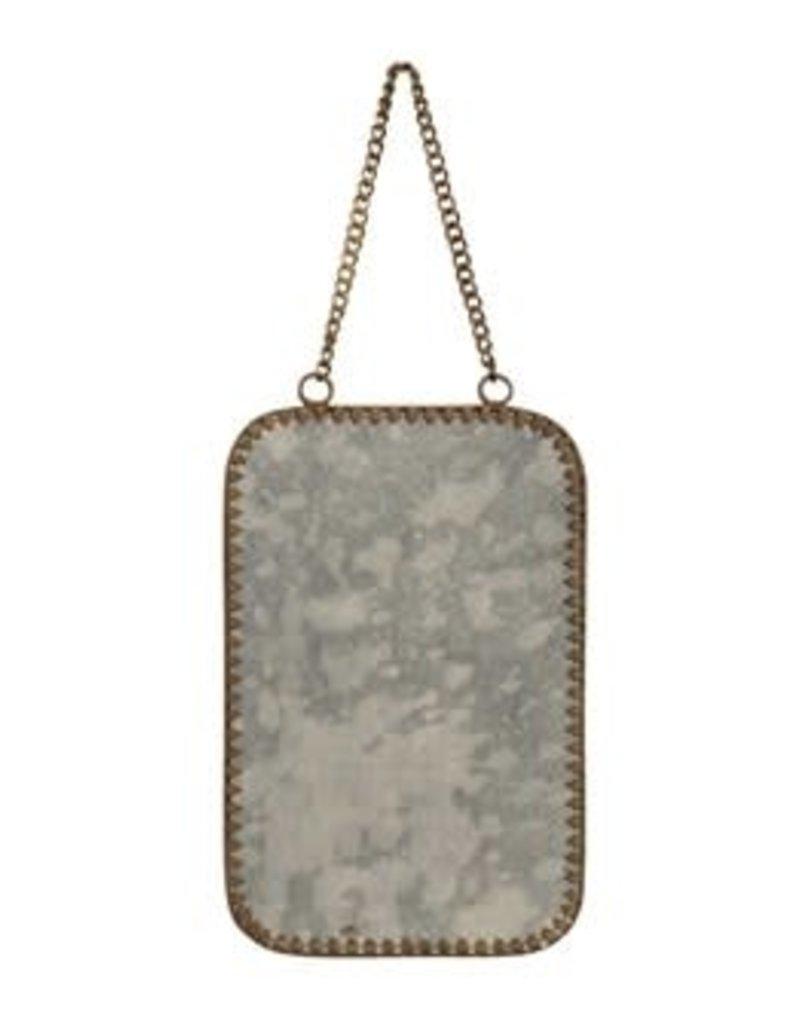 Hanging Mirror w/Chain