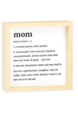 Noun description signs