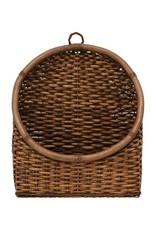 Woven Rattan wall basket