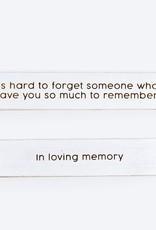 Living/Memory Rvs Wood sign