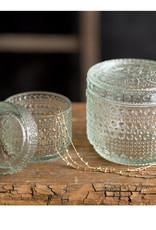Cut Glass Jar - Small