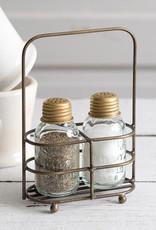 Brass Salt and Pepper Carrier