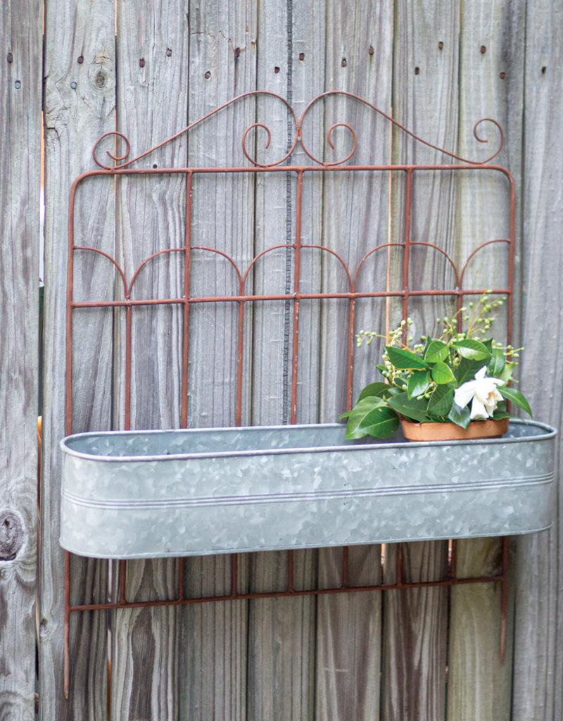 Garden Fence Planter
