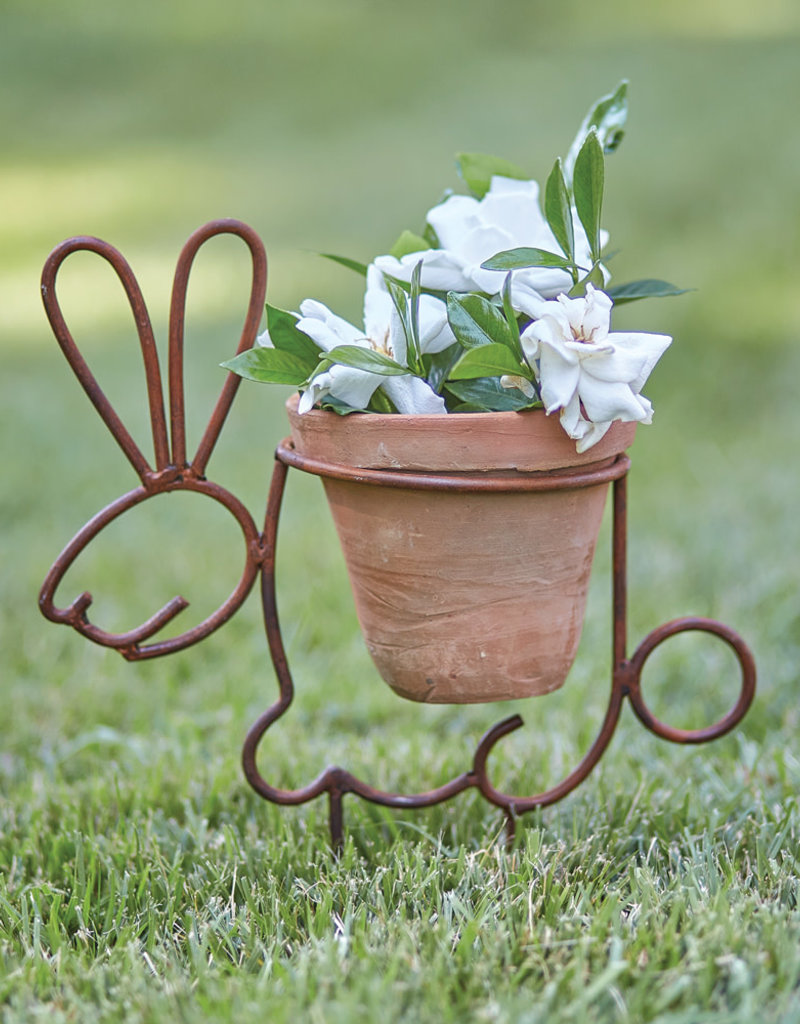 Bunny Planter Garden Stake