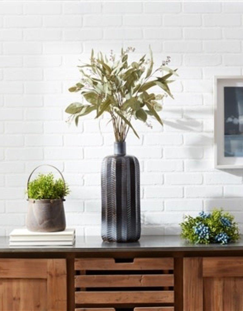 """Terra Cotta Vase, 19.5""""H"""