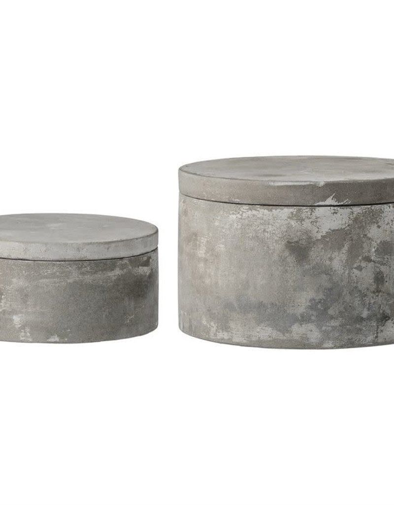Decorative Cement Box