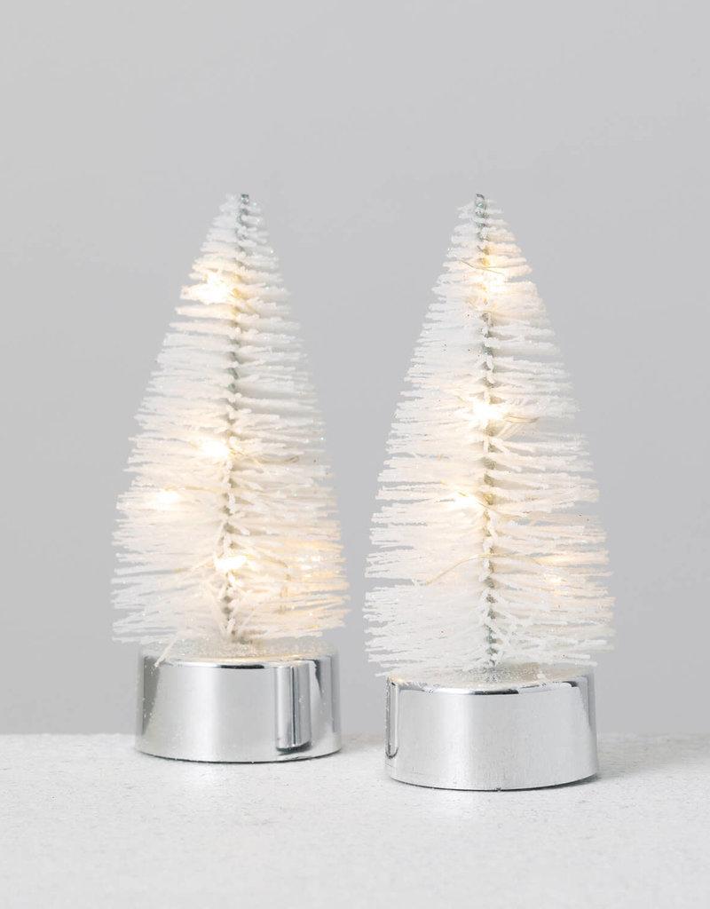 """Tree Tealight S/2, 4"""", Mulitcolor"""