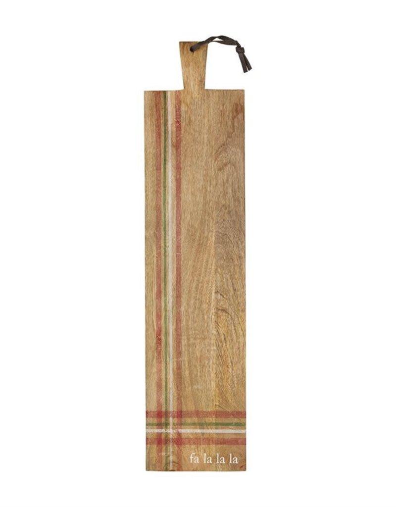 """Printed Stripe Cutting Board, 36""""L"""