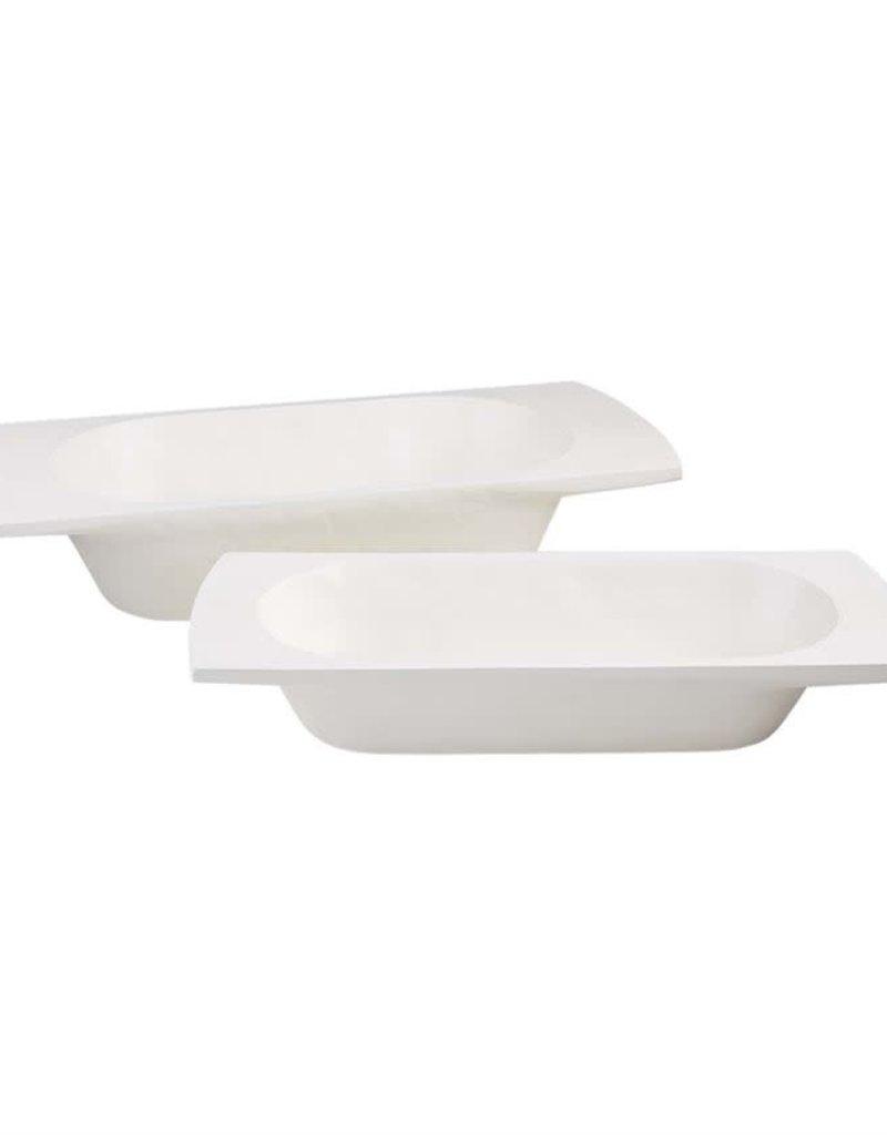 White Dough Bowl