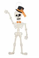 Skeleton Top Hat Door Hanger