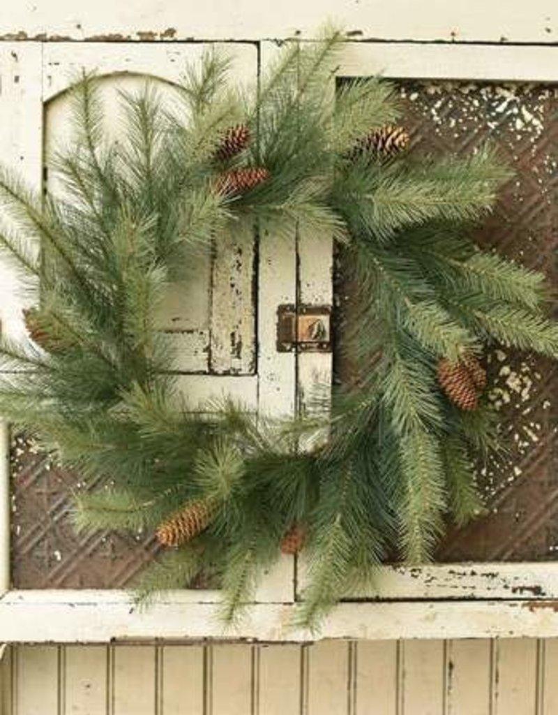 "24"" Woodford Pine Wreath"
