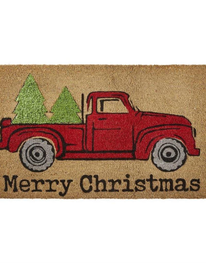 Truck with Tree Coir Mat